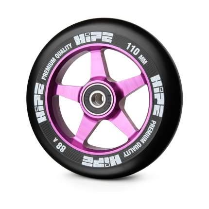 Колесо для самоката Hipe 09 110 мм фиолетовое/черное