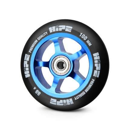 Колесо для самоката Hipe 5-Spoke 100 мм синее/черное