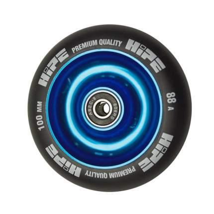 Колесо HIPE Solid  100mm синий/черный