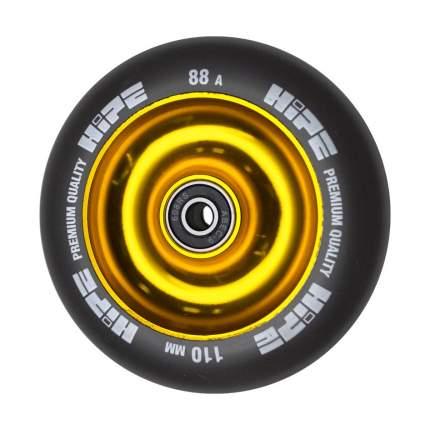 Колесо HIPE Solid  110mm золотой/черный