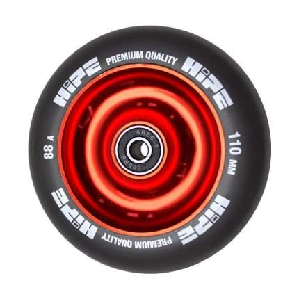 Колесо HIPE Solid  110mm красный/черный