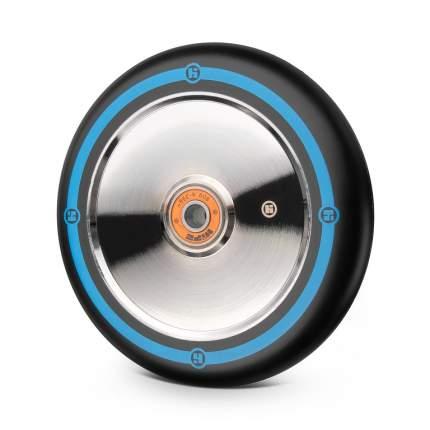 Колесо Hipe Flat Solid logo 125мм серебряно-синий