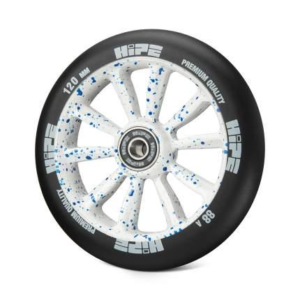 Колесо для самоката Hipe WLMT09L 120 мм белое/синее