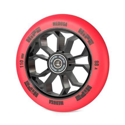 Колесо для самоката Hipe Medusa Wheel LMT36 110 мм красное/черное