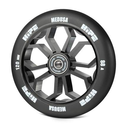 Колесо HIPE Medusa wheel LMT36 120мм black/core black