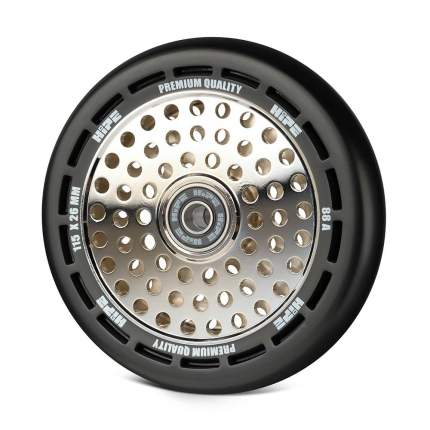 Колесо HIPE wheel 115мм black/core silver