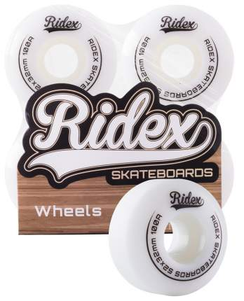 Комплект колес для скейтборда Ridex SB, 52*32, белый