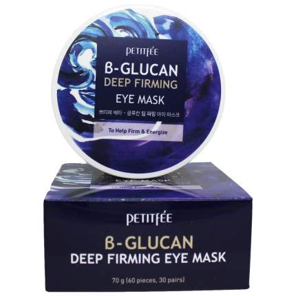 Патчи для глаз Petitfee B-Glucan Deep Firming Eye Mask 60 шт