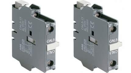 Контактный блок ABB CAL5-11