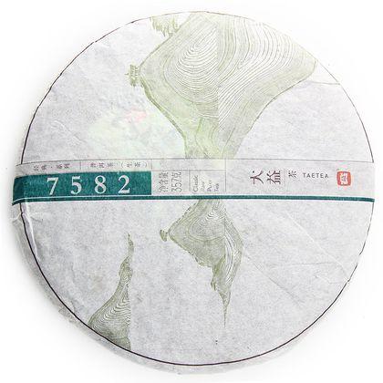 Пуэр Шен Taetea 7582 (блин 350г)