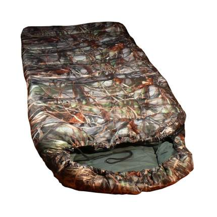 Спальный мешок СП3 камуфляж, правый