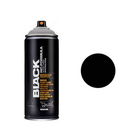Аэрозольная краска Montana Black 400 мл черная