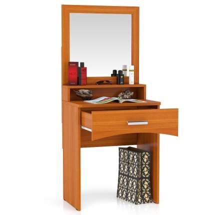 Столик туалетный с зеркалом Мебельный Двор МД вишня 65х46х152 см.