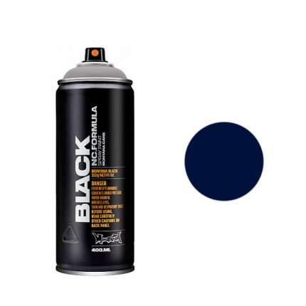 Аэрозольная краска Montana Black Dark indigo 400 мл