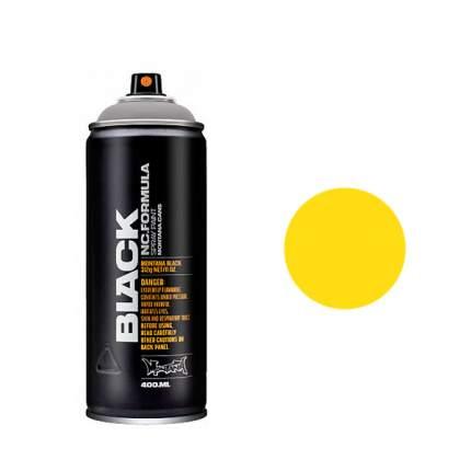 Аэрозольная краска Montana Black Kicking yellow 400 мл