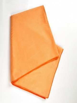 Полотенце 95х50 см Elff Decor микрофибра Круиз в сумочке тёмно-оранжевый