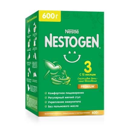 Молочко Nestogen 3 для комфортного пищеварения с 12 месяцев, 600 г