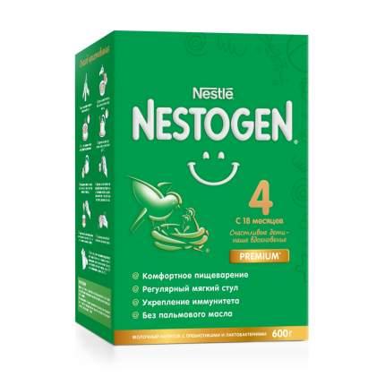 Молочко Nestogen 4 для комфортного пищеварения с 18 месяцев, 600 г