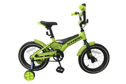 Велосипед Stark Tanuki 14 Boy 2018 onesize Tanuki 14 Boy черный/зеленый/белый