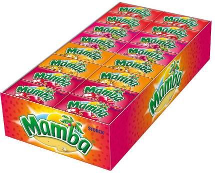 Конфеты Mamba жевательные блок 48 штук *26,5 гр.
