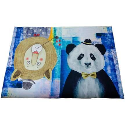 Детский ковер Лев и панда, 140х200