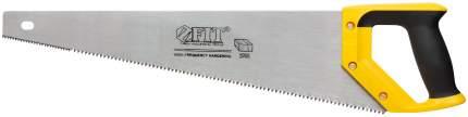Ножовка по дереву, крупный зуб с запилом, 500 мм. FIT 40403
