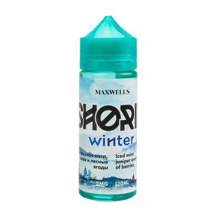 Жидкость для электронных сигарет Maxwell's Shoria Winter 3 мг 120 мл