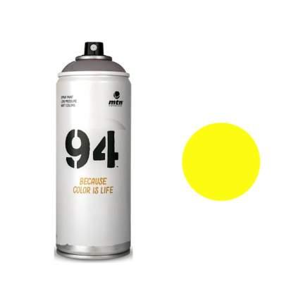 Аэрозольная краска Mtn 94 Fluor флуоресцентная желтый 400 мл
