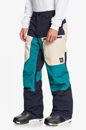 Мужские сноубордические штаны Travis Rice Stretch, бирюзовый, XL