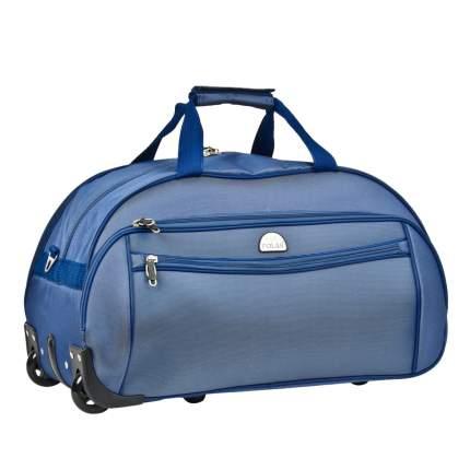 Дорожная сумка на колесах POLAR Регата, синяя (7019.5)