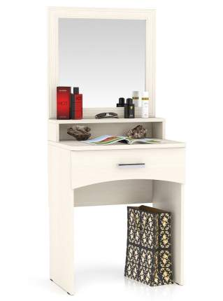 Столик туалетный с зеркалом Мебельный Двор МД дуб 65х46х152 см.