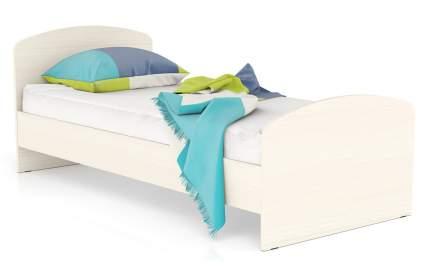 Кровать Мебельный Двор МД 900 ЛДСП 22 мм., дуб 90х205х80, сп.м. 900х2000 мм.