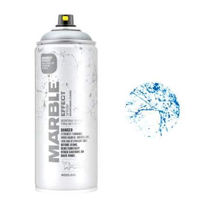 Аэрозольная краска Montana мрамор-эффект синий 400мл