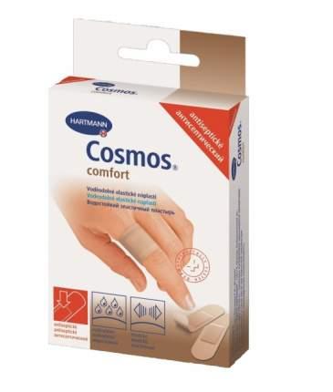 Пластырь Cosmos comfort антисептический 2 размера 20 шт.