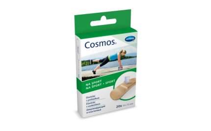 Пластырь Cosmos sport из полиуретановой пленки 20 шт.