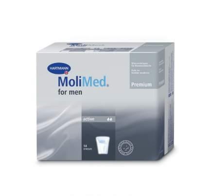 Урологические прокладки Molimed Premium for men active для мужчин 14 шт.
