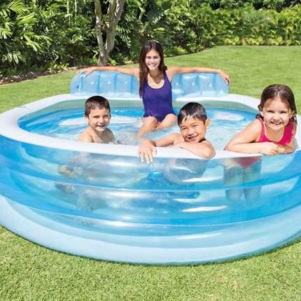 Бассейн надувной INTEX Swim Center Family Lounge Inflatable Swimming Pool 57190