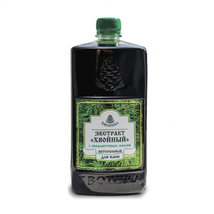Экстракт «ХВОЙНЫЙ» натуральный для ванн с эфирным маслом ЭВКАЛИПТА, 1л