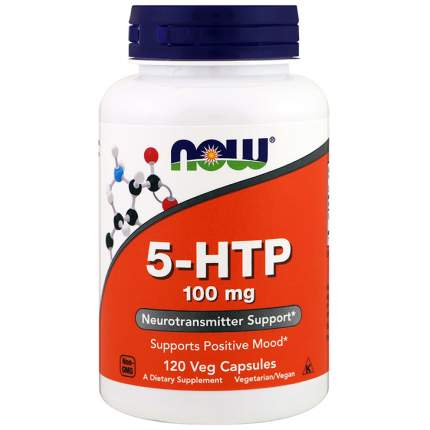 5-HTP 100 NOW Sports, 120 капсул