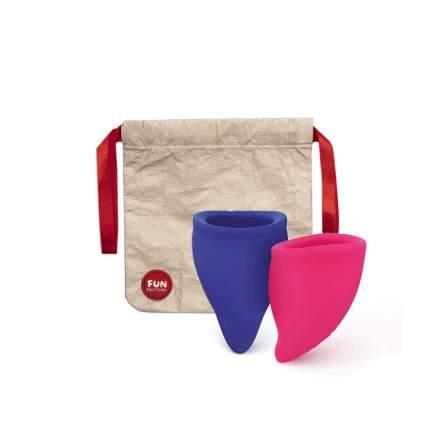 Менструальная чаша FUN CUP EXPLORE KIT (размеры A и B в комплекте)