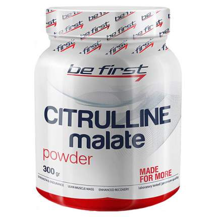 Citrulline Malate Powder Be First, 300 г, unflavored