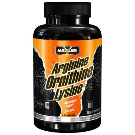 Arginine-Ornithine-Lysine Maxler, 100 капсул