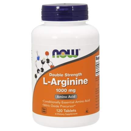 Arginine NOW Sports, 120 таблеток