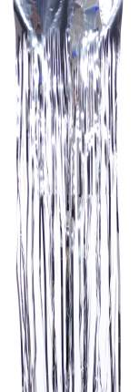 Дождик новогодний Елочка С 168,1 150 х 10 см серебристый