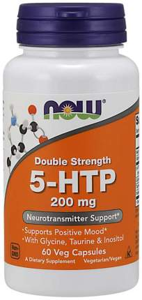 5-HTP 200 NOW Sports, 60 капсул
