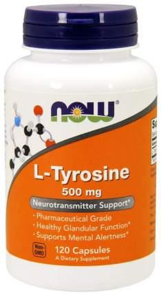 L-Tyrosine NOW Sports, 120 капсул