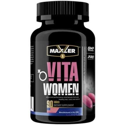 Витаминно-минеральный комплекс Maxler VitaWomen 90 таблеток