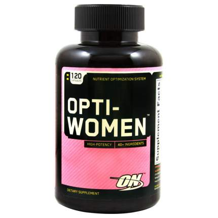 Витаминно-минеральный комплекс Optimum Nutrition Opti-Women 120 капсул