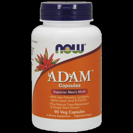 Витаминно-минеральный комплекс NOW Adam Male Multi вегетарианские капсулы 90 шт.