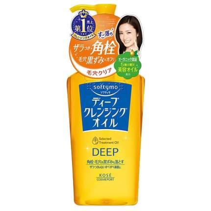 Гидрофильное масло KOSE COSMEPORT Softymo для глубокого очищения лица 200 мл.